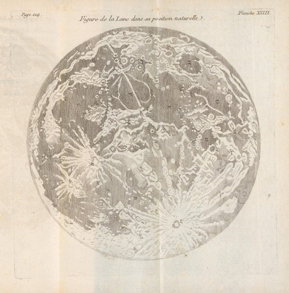 Dicquemare's Maps of the Moon (1771)