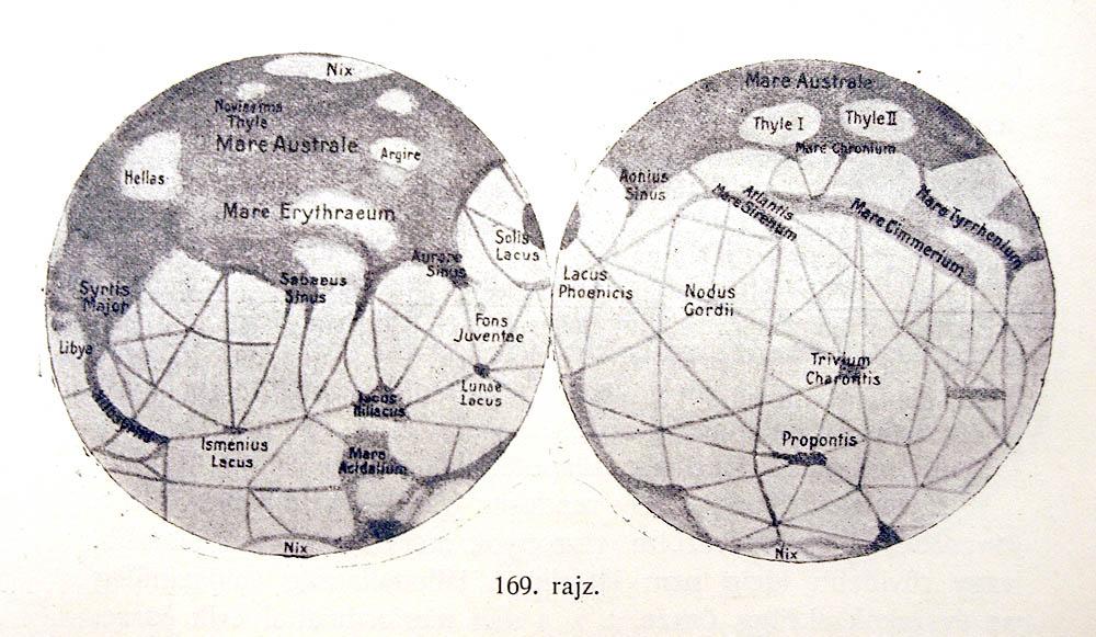 Map of Mars (1916)