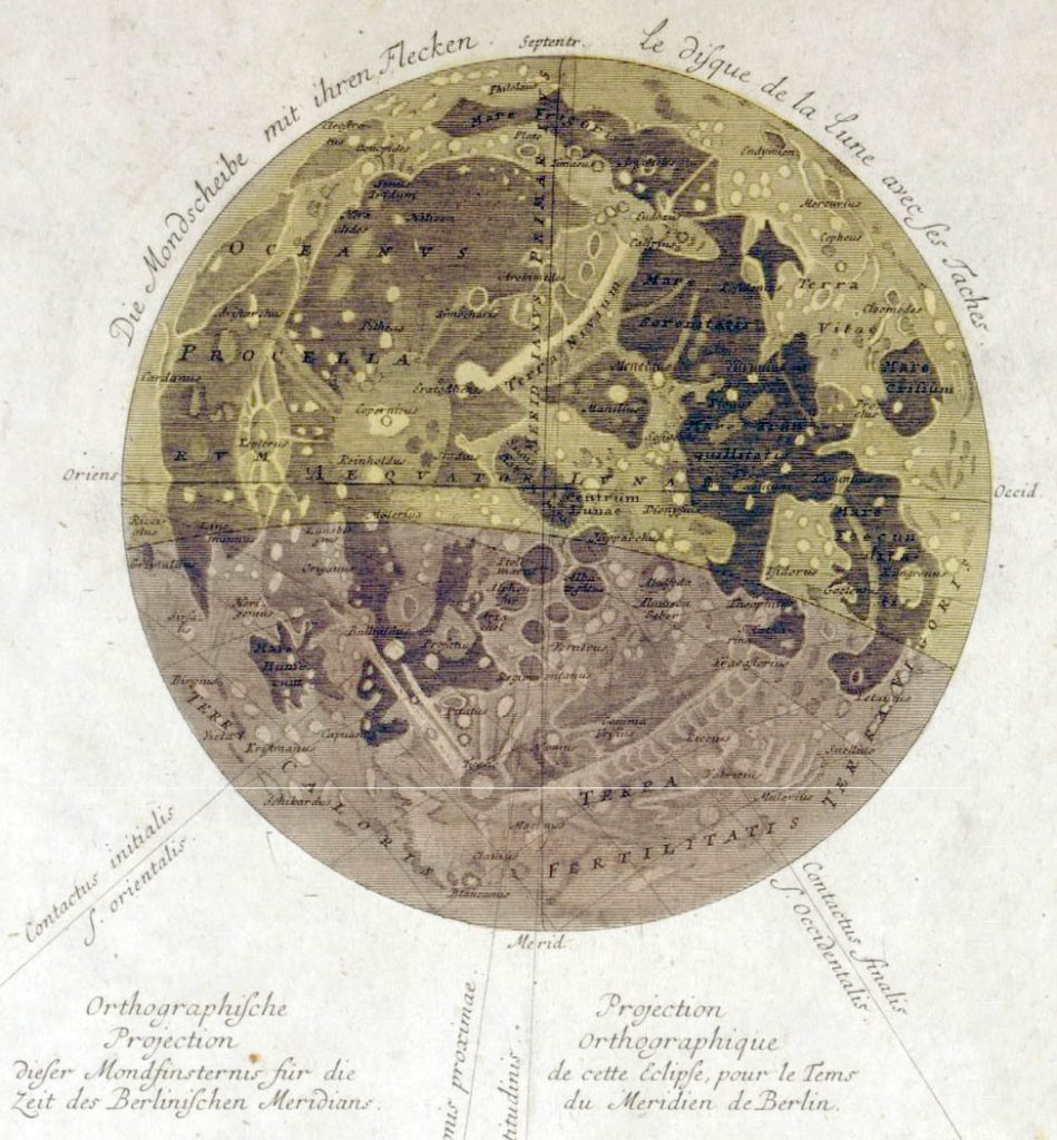 Tobias Mayer's maps of the Moon (1748, 1775)
