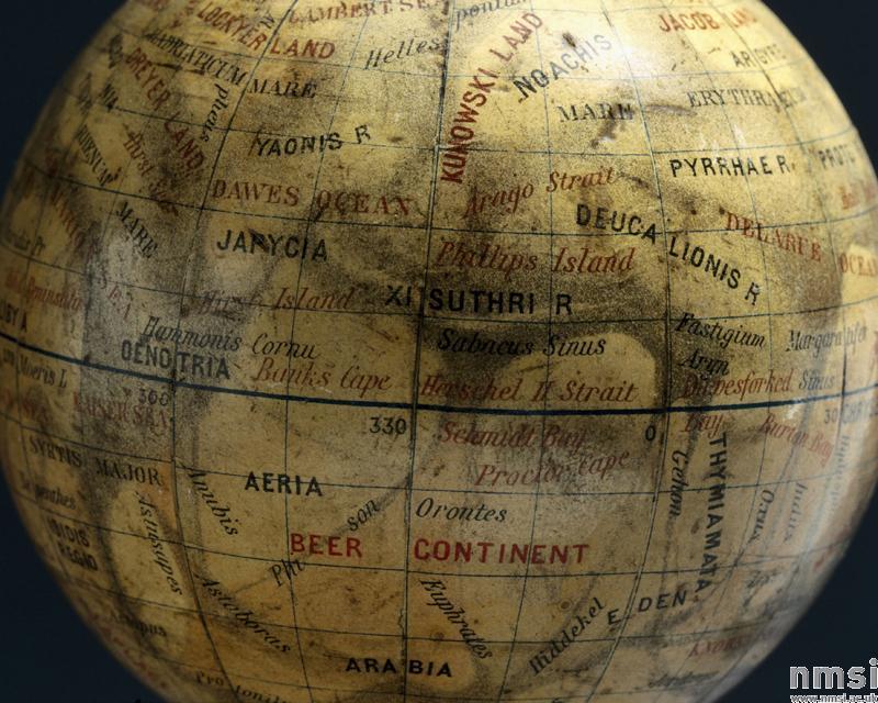 Niesten's Globe of Mars (1892)