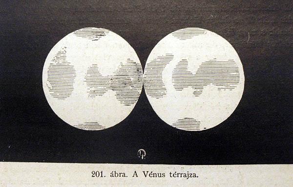 Flammarion's map of Venus