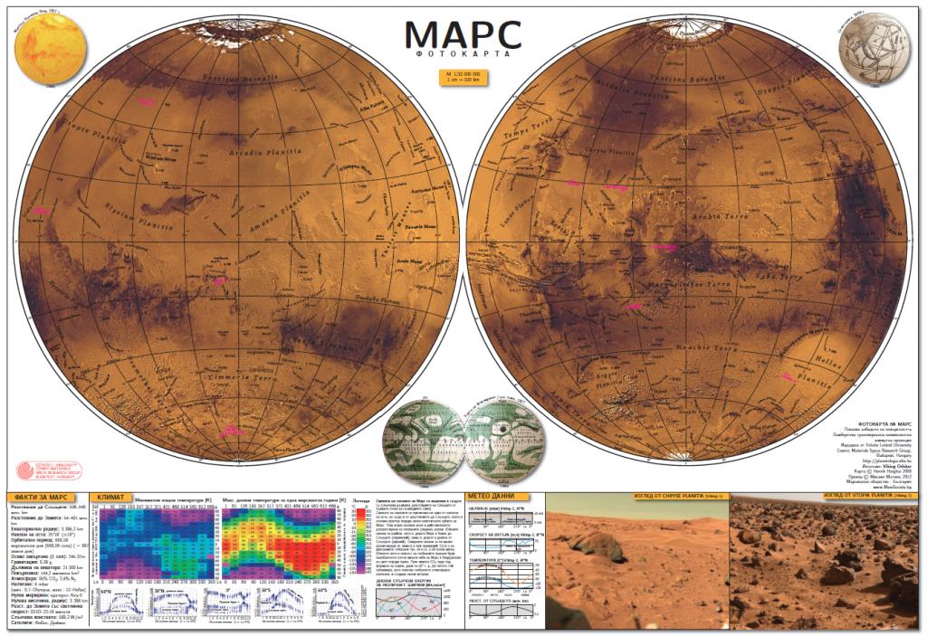 Viking Photomap of Mars (2008)