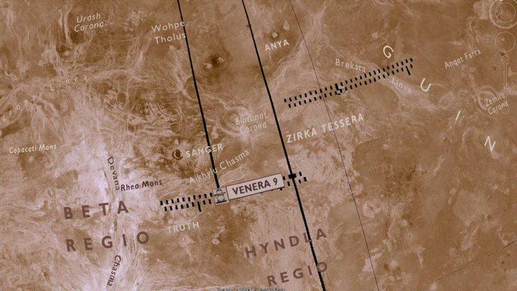 Virtual Globe of Venus: Radar Globe