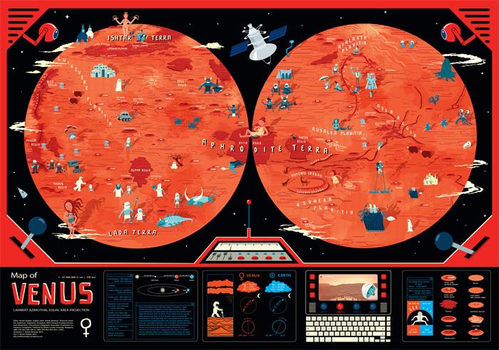 Children's Map of Venus