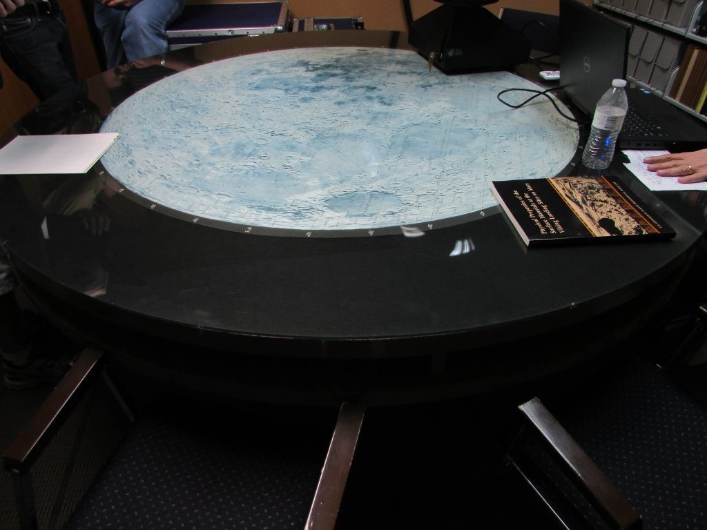 Conference Table Map of the Moon