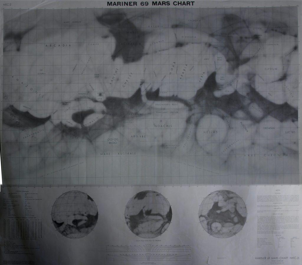 Mariner 69 Mars Chart