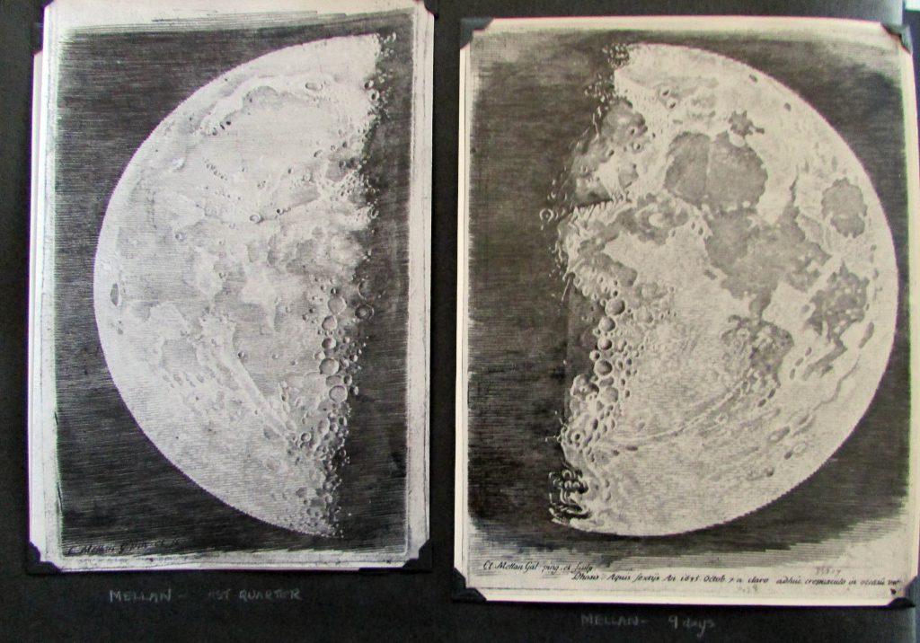 Engravings of the Moon (Mellan and Gassendi 1637)