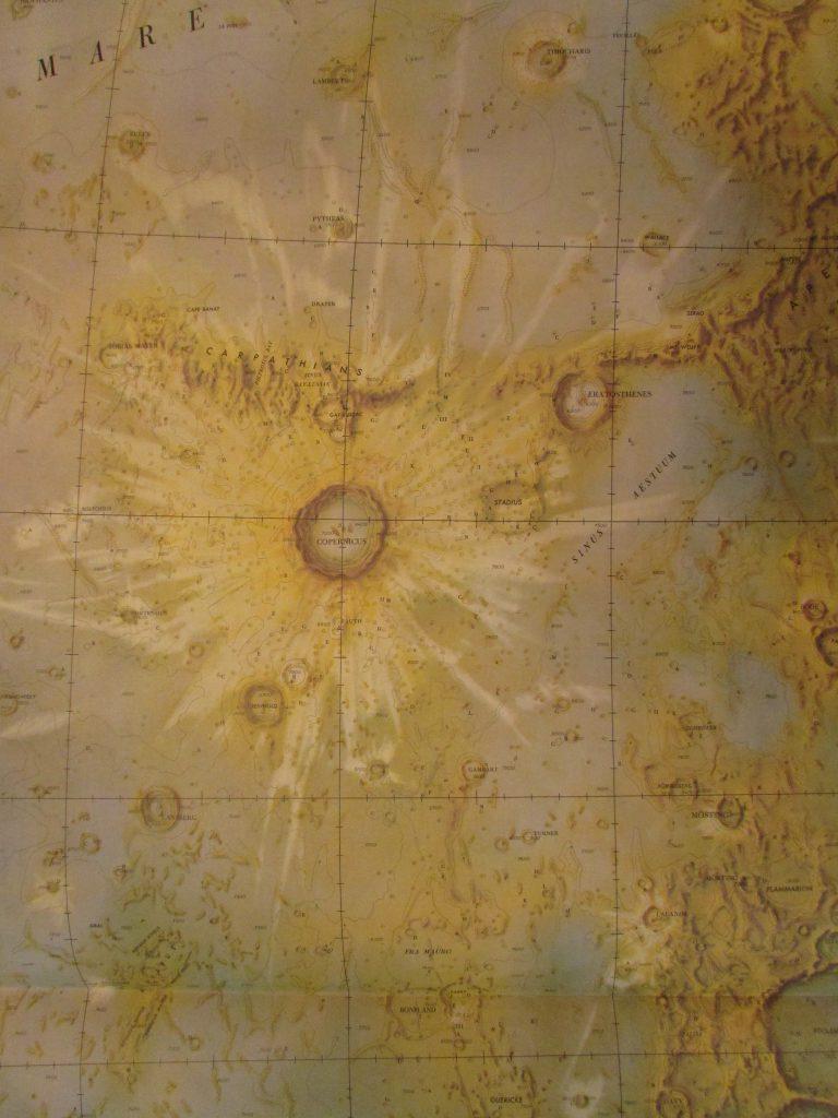 AMS Topographic Lunar Map (1962-63)
