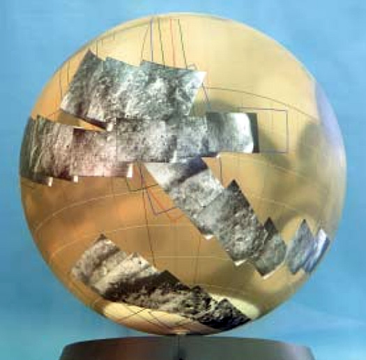 Mariner 6, 7 Globe of Mars