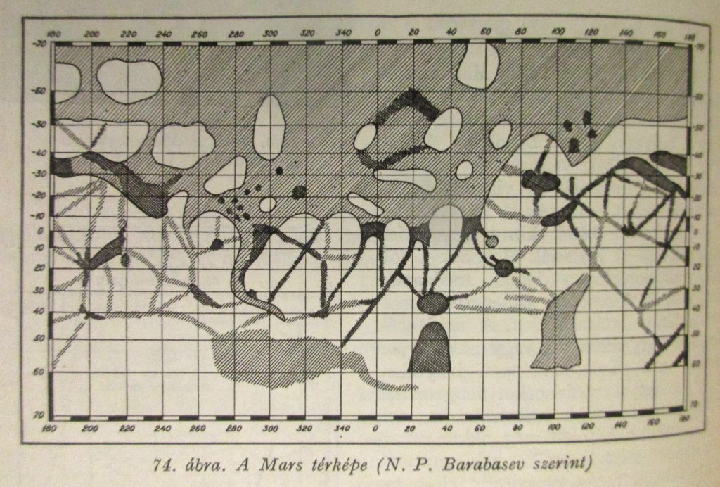 Barabashev's drawing of Mars