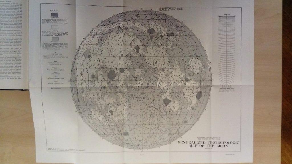 Generalized Photogeologic Map of the Moon (1961)