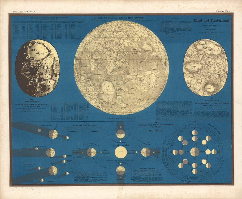 Darmstadt Map of the Moon (1857)