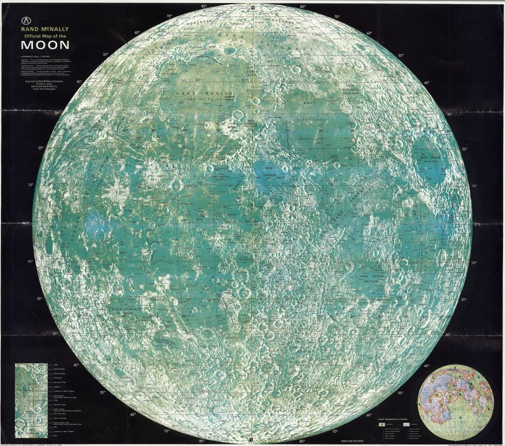 Rand McNally's Official Maps of the Moon (1958-)