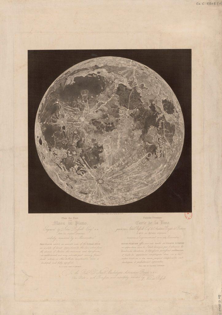 John Russell's Moon maps