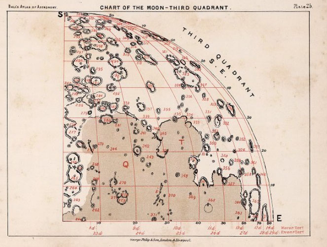 Elger's map of the Moon