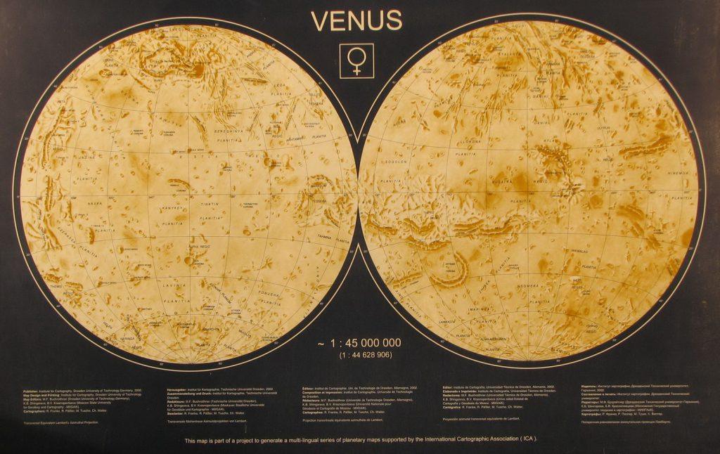 Dresden Map of Venus (2002)
