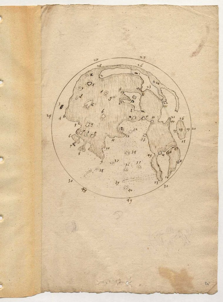 Thomas Harriot's Moon Drawing and Map