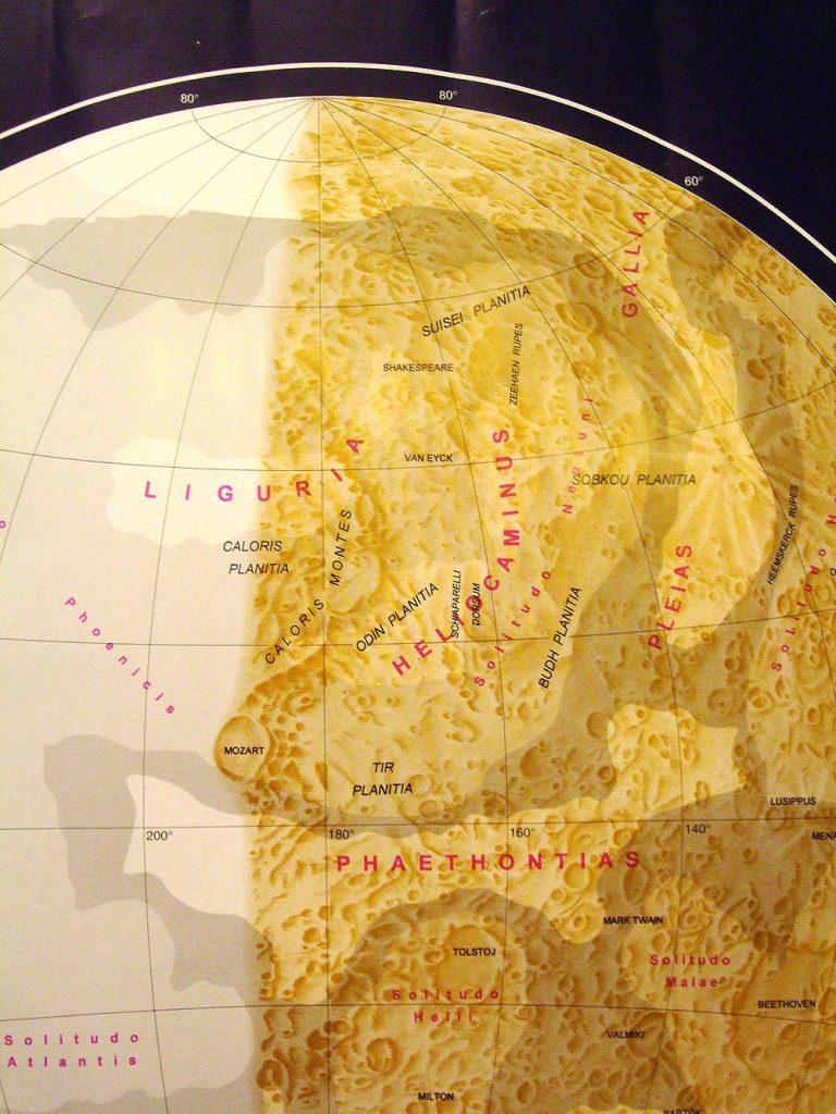 Dresden Map of Mercury (2005)