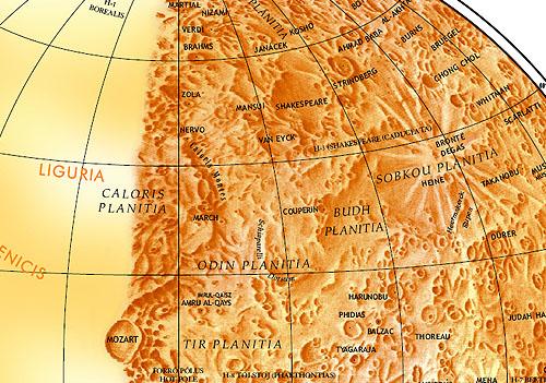 Map of Mercury, Bilingual Edition (2004)