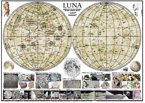 Map of the Moon, Multilingual Edition (2002)