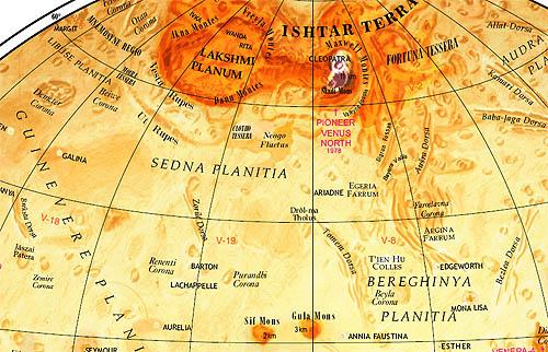 Map of Venus, Multilingual Edition (2003)