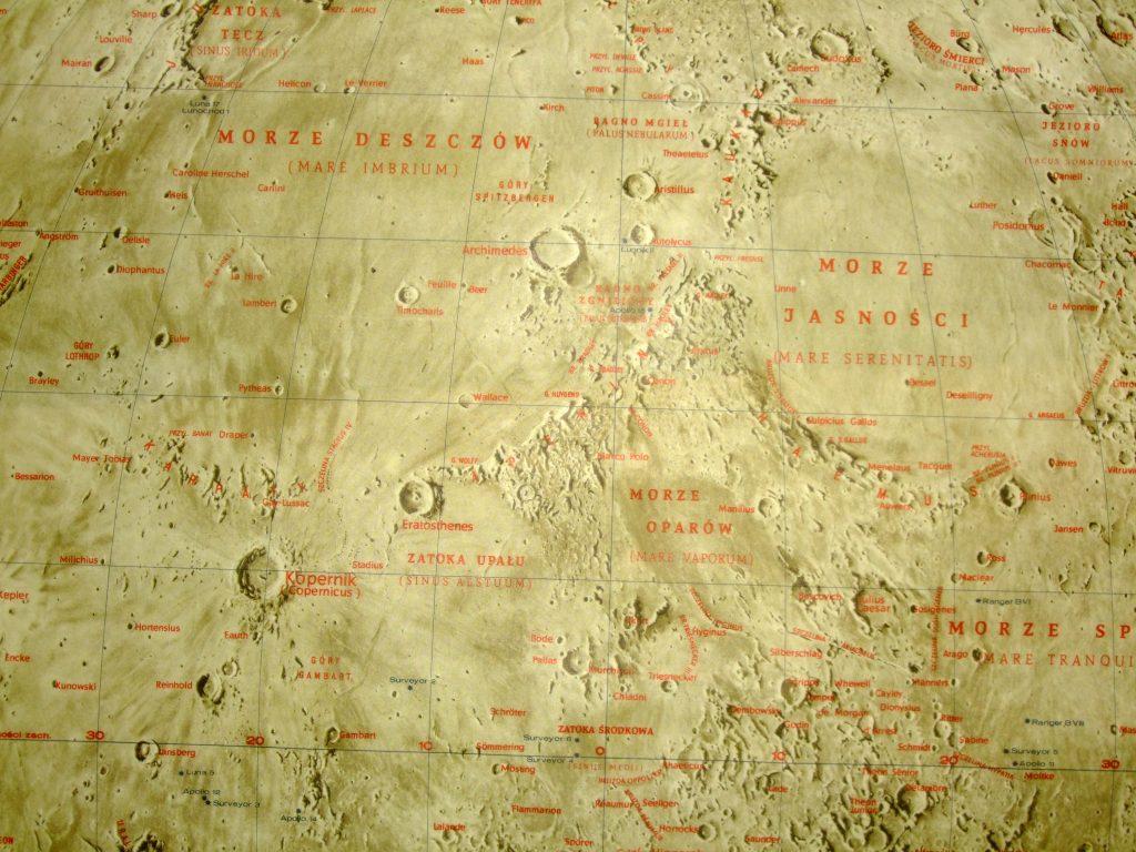 Ksiezych – Polish Moon Map (1971)