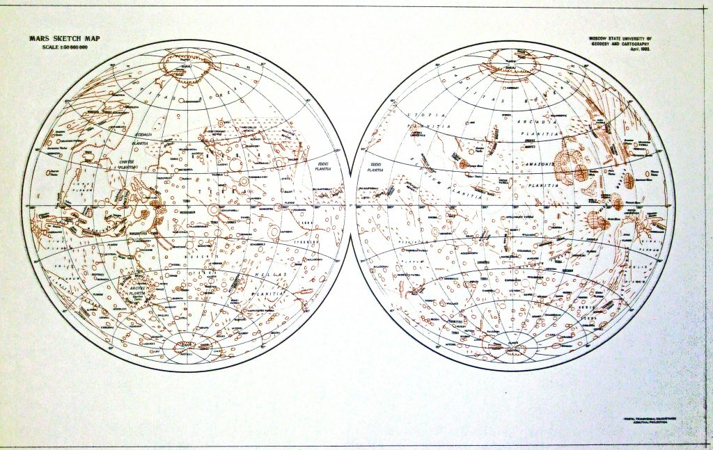 Blank Map of Mars (1993)