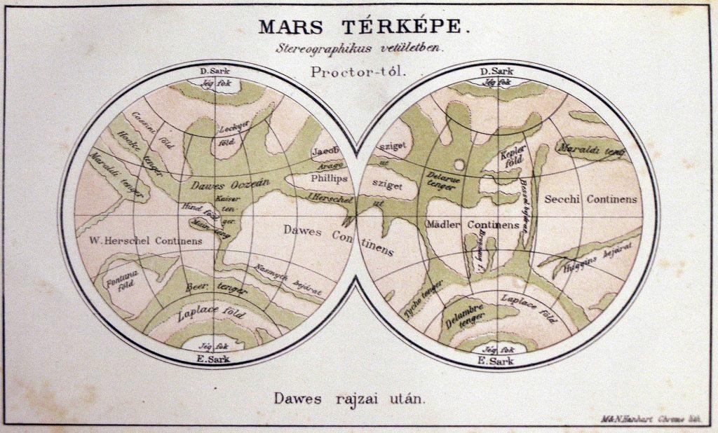 Proctor's Mars Maps (1865-1892)