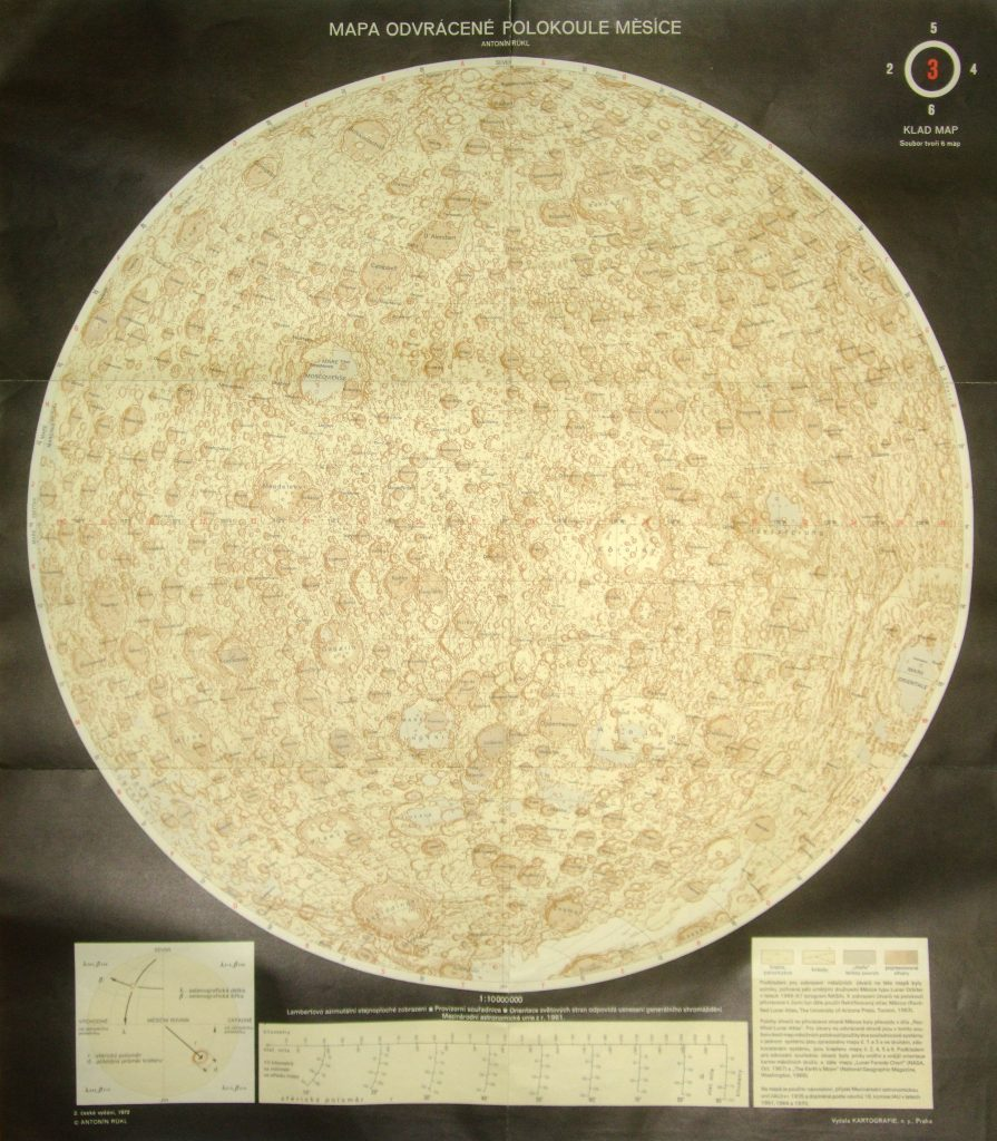 Rükl's Moon Map (1972)