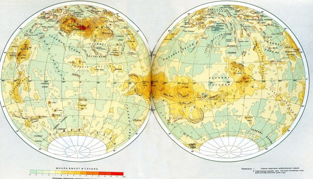 MIIGAiK's Map of Venus (1992)