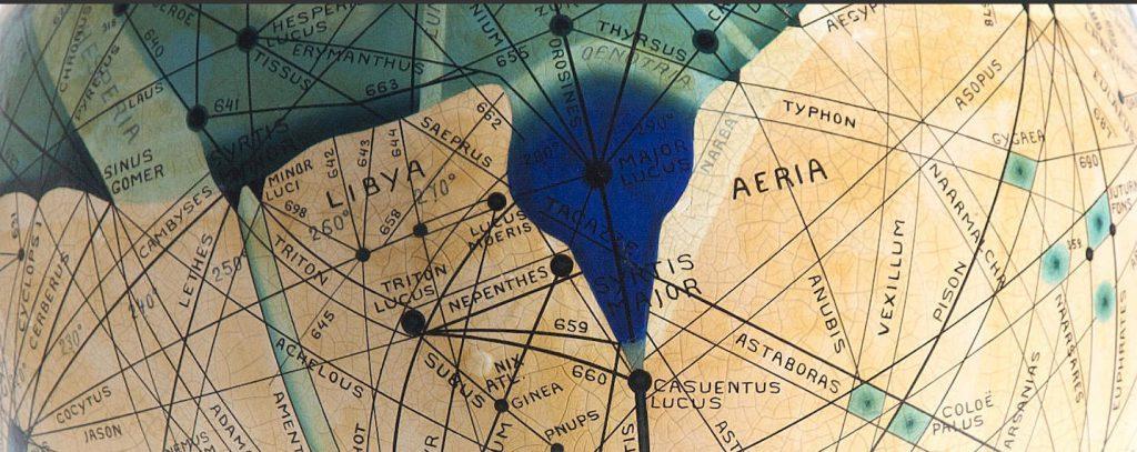 Ingeborg Brun's Globe of Mars (1909)