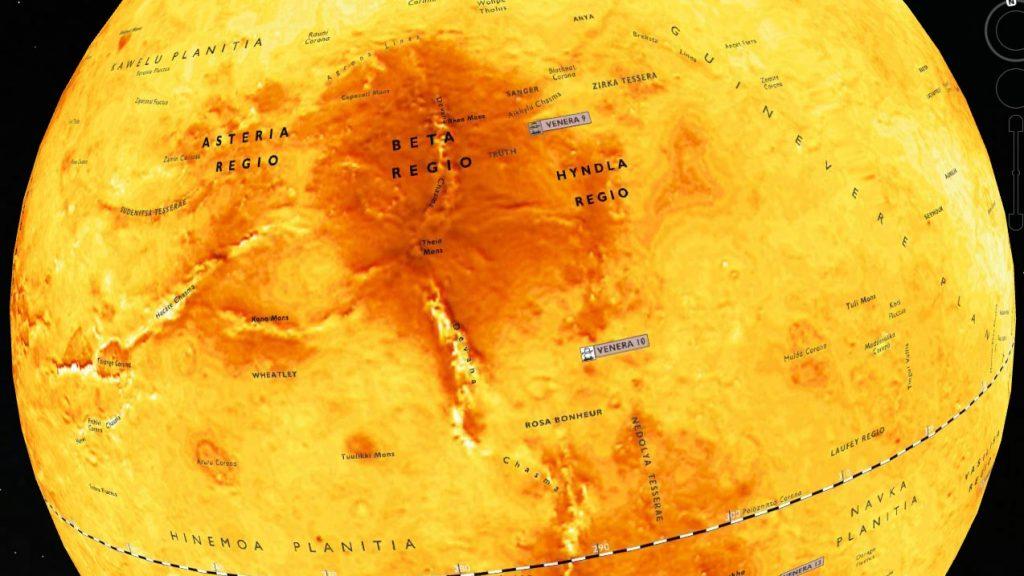 Virtual Globe of Venus: Topography (2009)