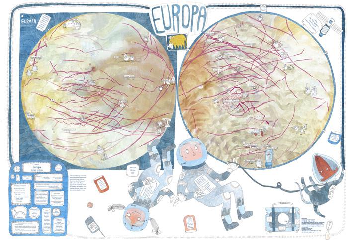 Children's Map of Europa