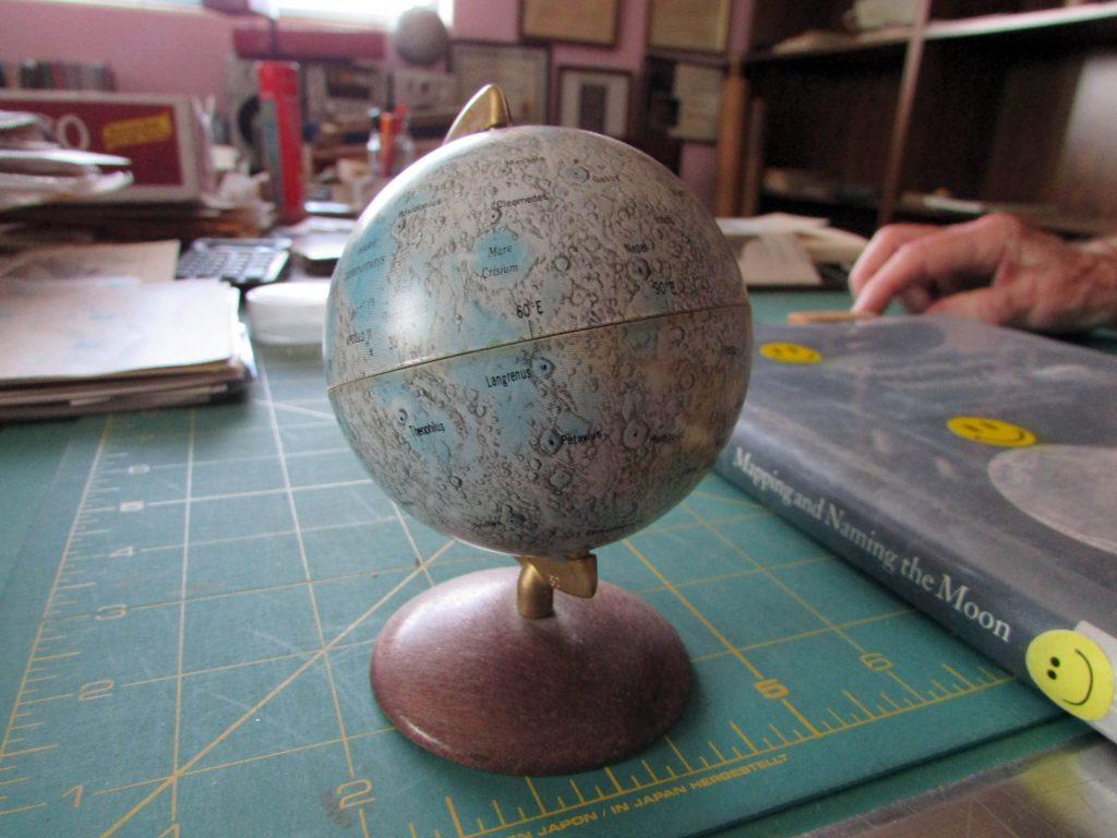 Globe of the Moon (Japan)