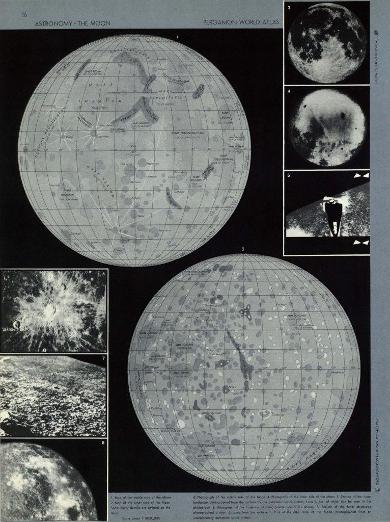 Atlas świata / Map of the Moon (1967)