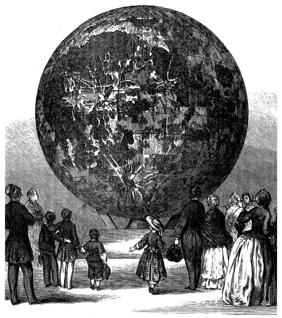 Dickert's Moon Globe
