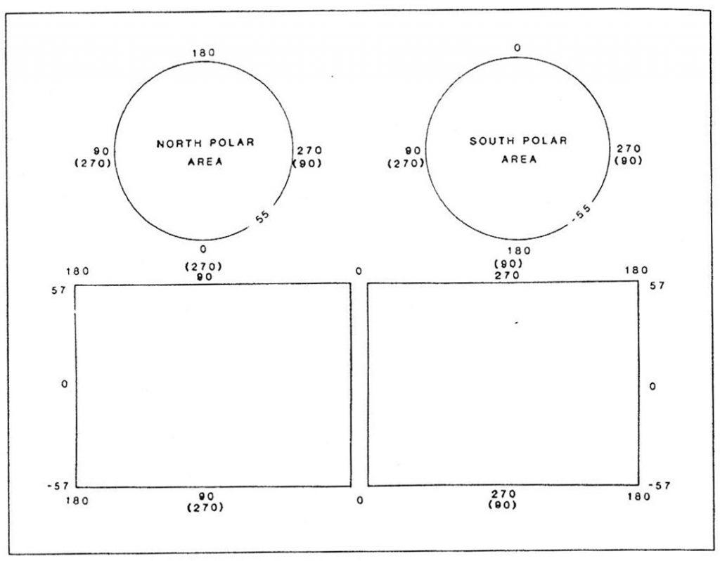 Planetary Map Quadrangle Layouts and Designations