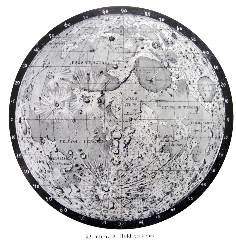 Cholnoky's map of the Moon (193?)