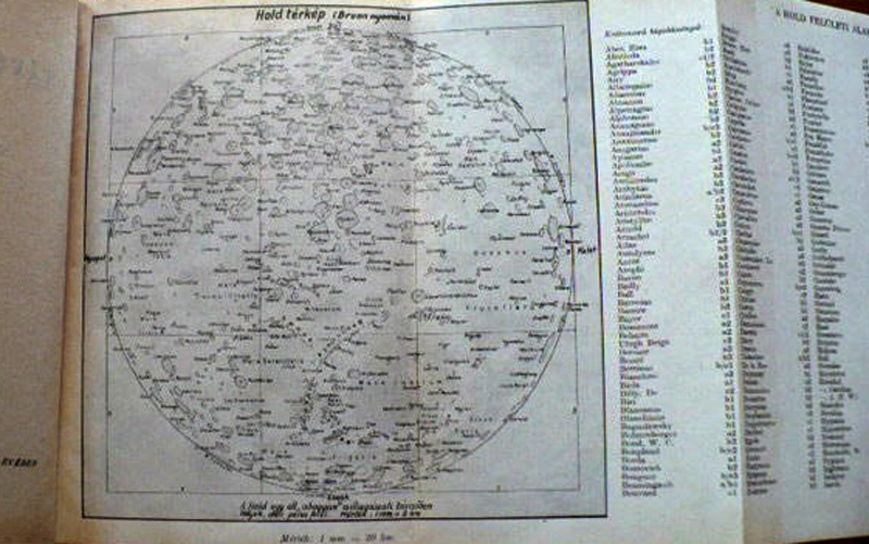 Kulin's Map of the Moon