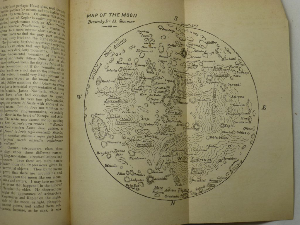 Alfred Sommer's Map of the Moon (1879)