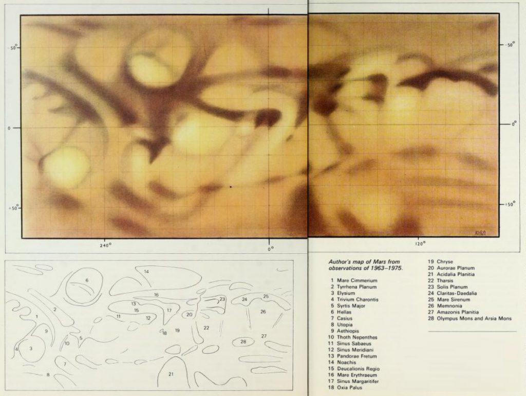 Doherty's map of Mars